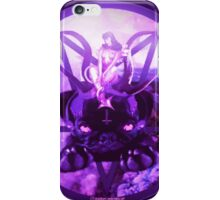 purple pugtagram iPhone Case/Skin