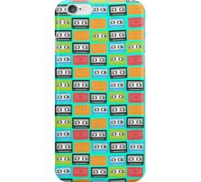 Old tapes pattern iPhone Case/Skin
