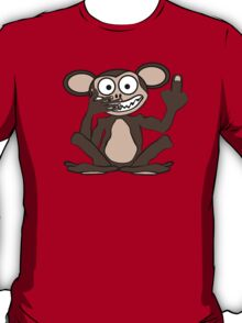 Crazy Monkey Tee (Furless) T-Shirt