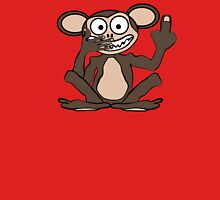 Crazy Monkey Tee (Furless) Unisex T-Shirt