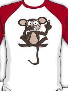 Crazy Monkey (Tail + Furless) T-Shirt