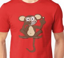 Crazy Monkey Tee (Tail + Fur) Unisex T-Shirt