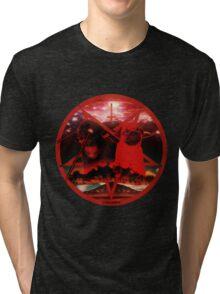 red pugtagram Tri-blend T-Shirt