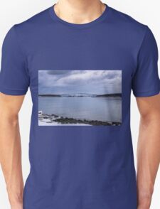 Acadia National Park Winter Time T-Shirt