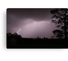 Lightning Strike !! Canvas Print