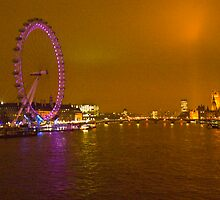 London Glow by DavidFrench