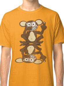 Monkey See Monkey Do Tee (Fur) Classic T-Shirt