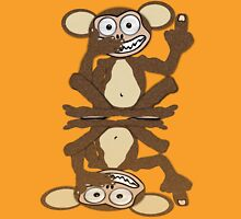 Monkey See Monkey Do Tee (Fur) Unisex T-Shirt