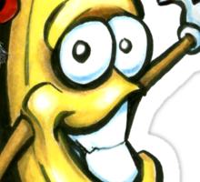 Merry Christmas Banana Happy New Year Sticker
