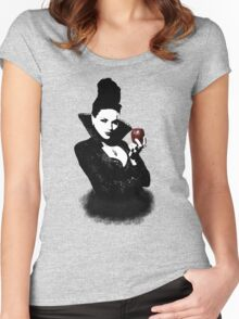 It's Not Just An Apple, It's A Weapon Women's Fitted Scoop T-Shirt