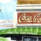 Wang Fat Fish Market by JGFineArt