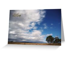Country Sky © Vicki Ferrari Photography Greeting Card
