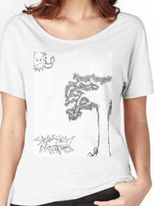 Shady Mofo Logo Women's Relaxed Fit T-Shirt