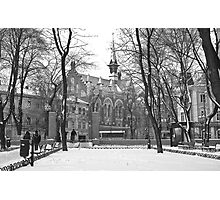 Odessa Presbyterian Church Photographic Print