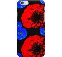 Floral stamp iPhone Case/Skin