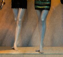 Long Legs And Mini-Skirts by CarolM