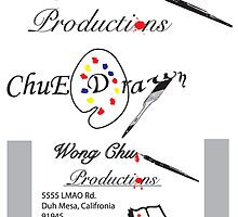 Logo Design and Buisness Card: Wong Chu Productions by Charles Cruz