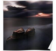 Land Sea Sky VII Poster