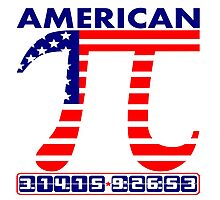 American Pi Day 3.14.15  Photographic Print
