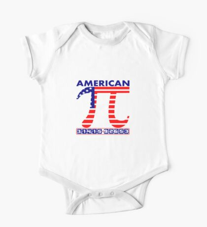 American Pi Day 3.14.15  One Piece - Short Sleeve