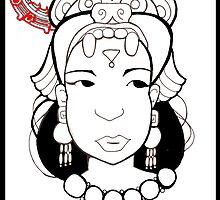 Aztec Goddess by mylittlenative