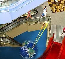 Surrealism Project: Escalators by Charles Cruz