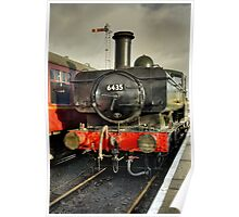 Steam Locomotive at Embsay Railway Poster