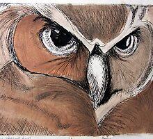 Great Horned Owl by AmyLynn09