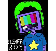 clever boy (color) Photographic Print