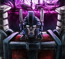 Ultra Magnus ruins of Cybertron by rabbittree