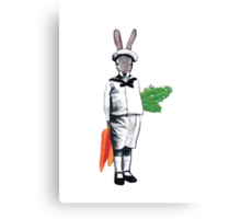 Mischievous Rabbit Canvas Print