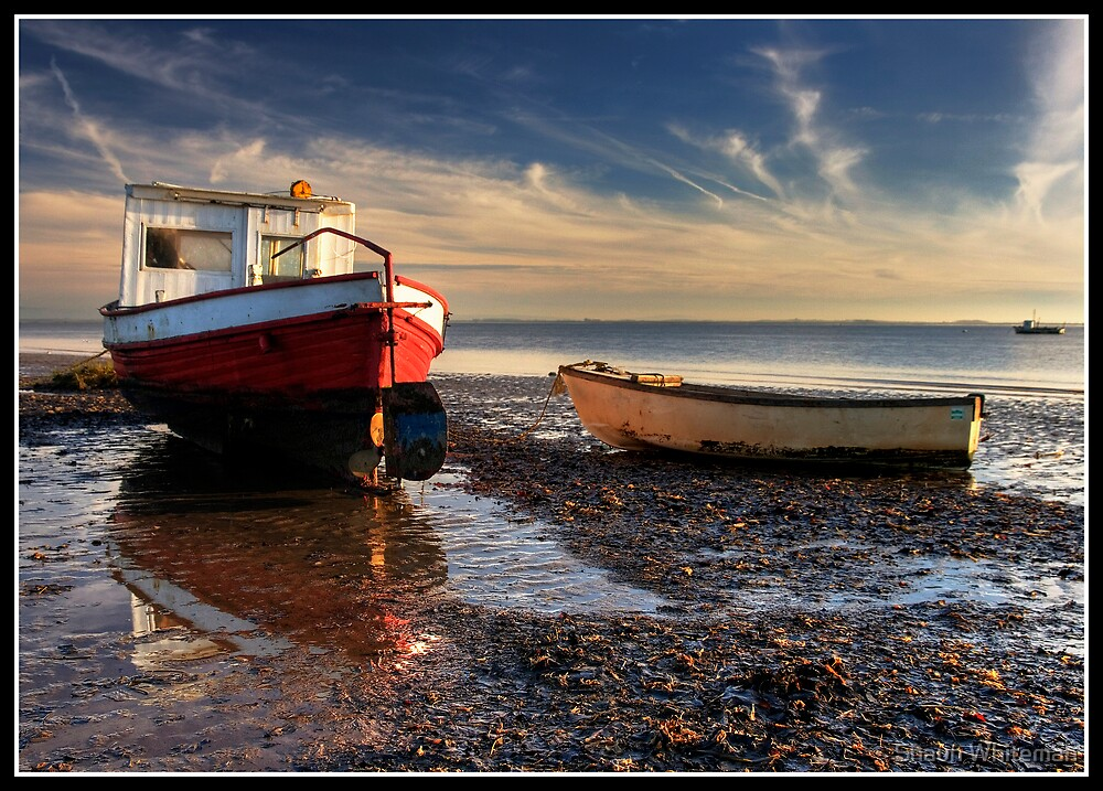 Boats at Lytham St Annes by Shaun Whiteman