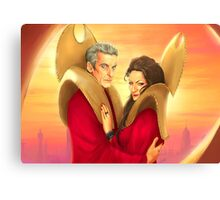 Time Lords of Gallifrey Canvas Print
