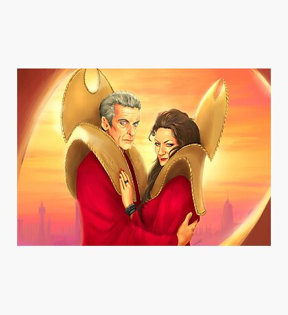 Time Lords of Gallifrey Photographic Print