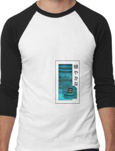 Chilled Vaporwave Shirt Men's Baseball ¾ T-Shirt