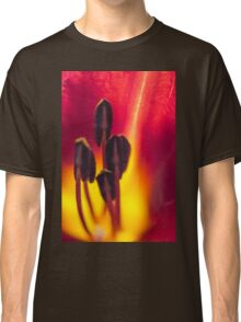 Red and Yellow Lily Classic T-Shirt