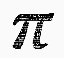 Pi Day Graphic Symbol Men's Baseball ¾ T-Shirt