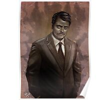 I Was Born Ready; I'm Ron F#cking Swanson Poster