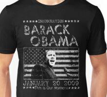 Obama Inauguration 01 20 09 t shirt Unisex T-Shirt