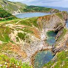 Stair Hole and Lulworth Cove Dorset UK - HDR  by Colin  Williams Photography