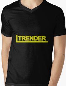 TRENDER Mens V-Neck T-Shirt
