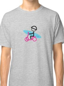Scootery Boy series - scooter surferl t-shirt Classic T-Shirt