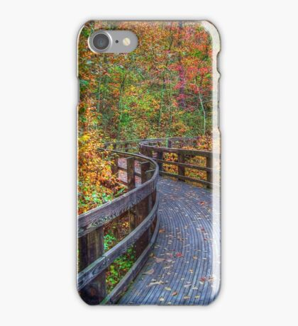 Autumn Walk iPhone Case/Skin