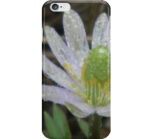Drenched Windflower iPhone Case/Skin