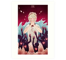 Toothy Tarot: Mïllo (Judgement) Art Print
