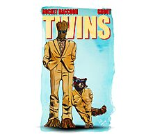 Rocket Groot - Twins Photographic Print