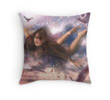 Her Secret Identity Throw Pillow