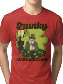 Drunky McDrunkerson Tri-blend T-Shirt