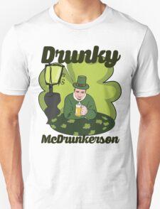 Drunky McDrunkerson Unisex T-Shirt