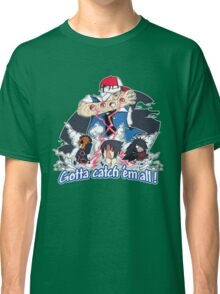 """ Danzo Master trainer "" ( Pokémon / Naruto ) Classic T-Shirt"